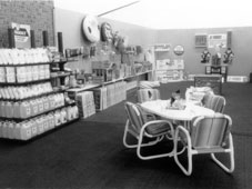 Our chemicals & accessories display in 1988
