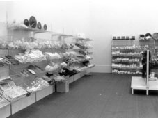 Our spare parts section in 1988