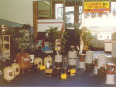 Our main showroom in the mid 90s